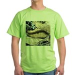 California Slender Salamander Green T-Shirt