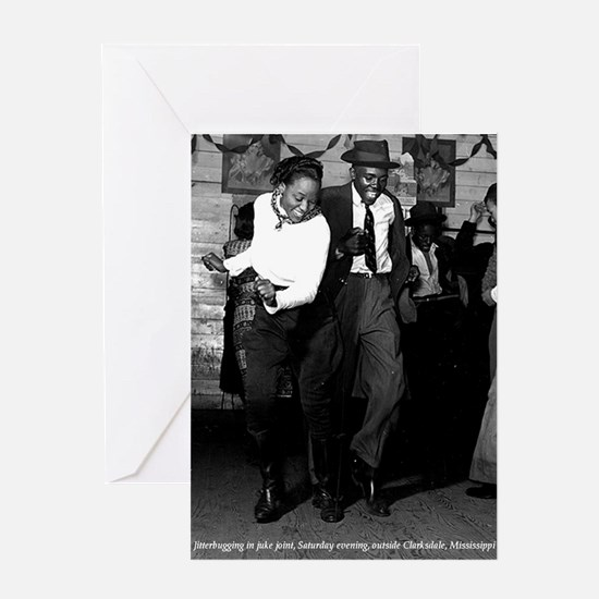 Juke Joint 1 Greeting Cards