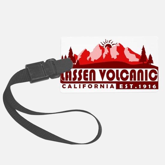 Lassen Volcanic - California Luggage Tag