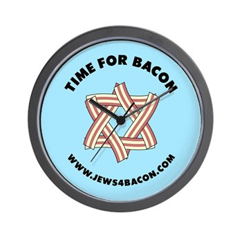 Time for Bacon Wall Clock