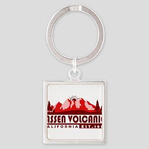 Lassen Volcanic - California Keychains