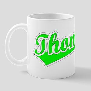 Retro Thomas (Green) Mug