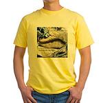 Calif. Slender Salamander Yellow T-Shirt