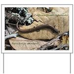 Calif. Slender Salamander Yard Sign