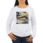 Calif. Slender Salamander Women's Long Sleeve T-Sh