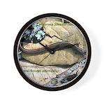 Calif. Slender Salamander Wall Clock
