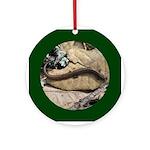 Calif. Slender Salamander Ornament (Round)