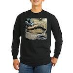 Calif. Slender Salamander Long Sleeve Dark T-Shirt