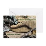 Calif. Slender Salamander Greeting Cards (Pk of 20