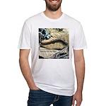 Calif. Slender Salamander Fitted T-Shirt
