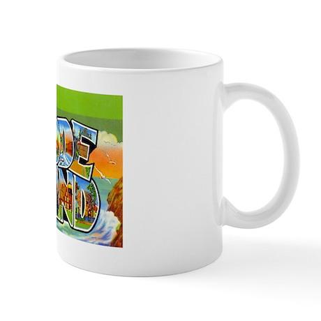 RHODE ISLAND RI Mug