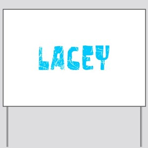 Lacey Faded (Blue) Yard Sign