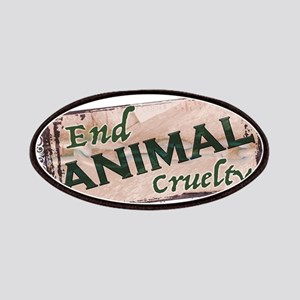 End Animal Cruelty Patch