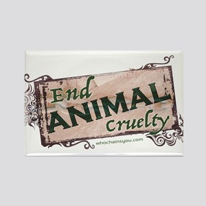 End Animal Cruelty Magnets