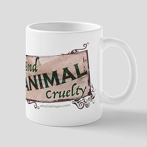 End Animal Cruelty Mugs