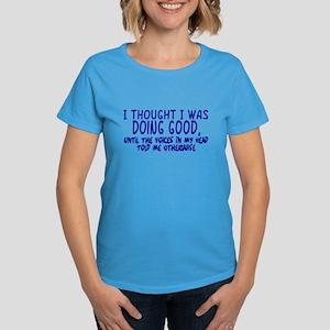 Voices In My Head Women's Dark T-Shirt