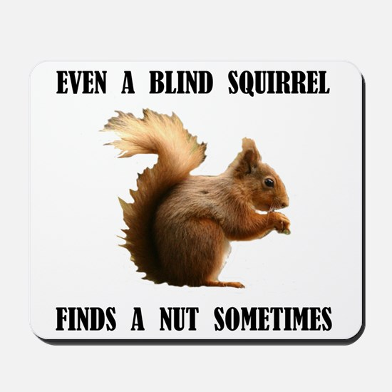 BLIND SQUIRREL Mousepad