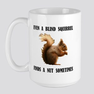 BLIND SQUIRREL Large Mug
