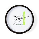 avocado8 Wall Clock