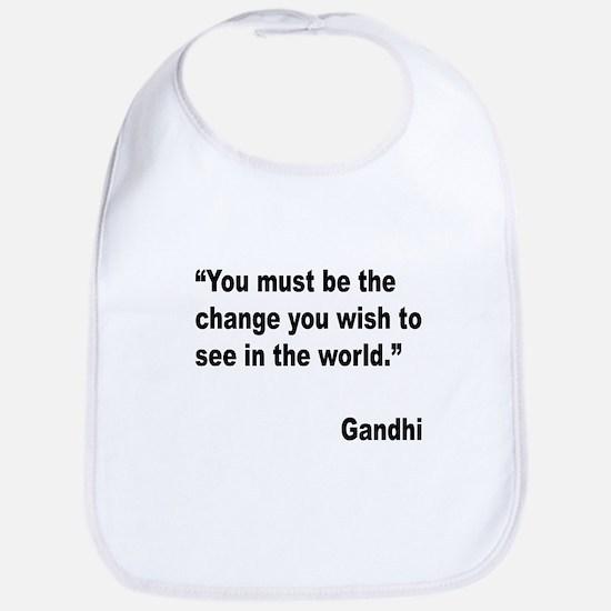 Gandhi World Change Quote Bib