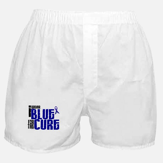 I Wear Blue For The Cure 6 Boxer Shorts