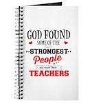 Strongest Teachers Journal