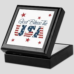 God Bless The U.S.A. Keepsake Box