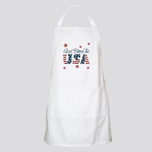 God Bless The U.S.A. BBQ Apron