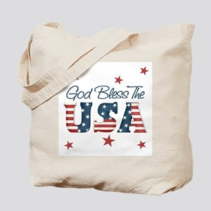 God Bless The U.S.A. Tote Bag