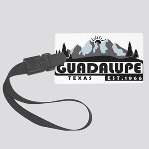 Guadalupe Mountains - Texas Large Luggage Tag