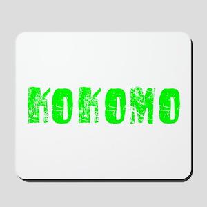 Kokomo Faded (Green) Mousepad