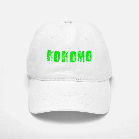 Kokomo Faded (Green) Baseball Baseball Cap