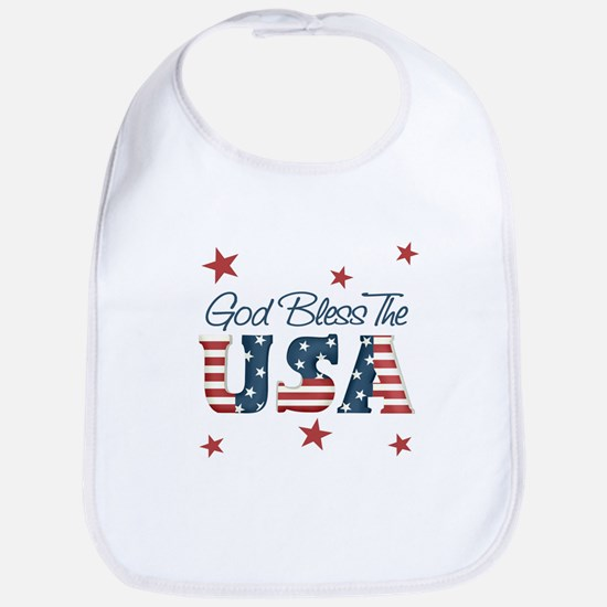 God Bless The U.S.A. Bib