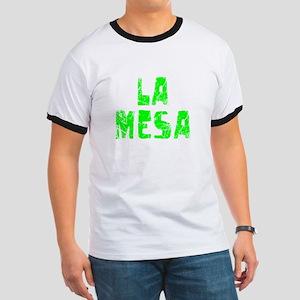 La Mesa Faded (Green) Ringer T