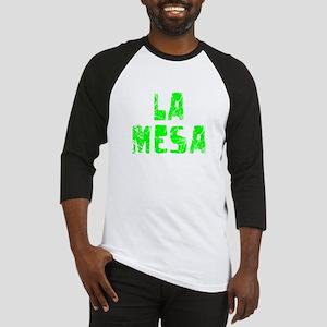 La Mesa Faded (Green) Baseball Jersey