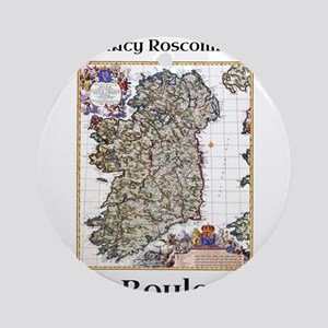 Boyle Co Roscommon Ireland Round Ornament