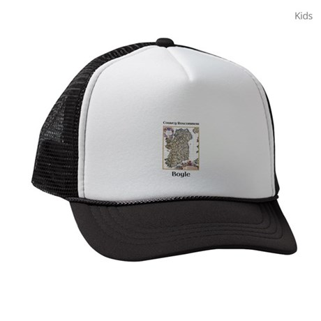 Boyle Co Roscommon Ireland Kids Trucker hat