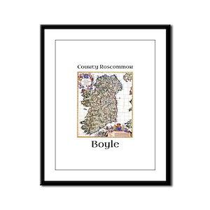 Boyle Co Roscommon Ireland Framed Panel Print