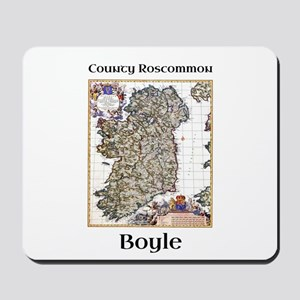 Boyle Co Roscommon Ireland Mousepad