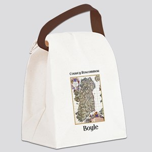 Boyle Co Roscommon Ireland Canvas Lunch Bag