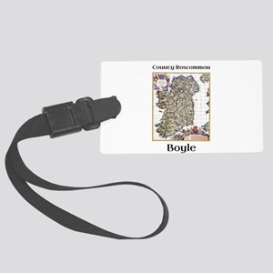 Boyle Co Roscommon Ireland Luggage Tag