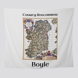 Boyle Co Roscommon Ireland Wall Tapestry