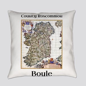 Boyle Co Roscommon Ireland Everyday Pillow
