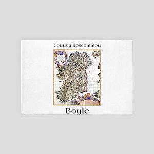 Boyle Co Roscommon Ireland 4' x 6' Rug