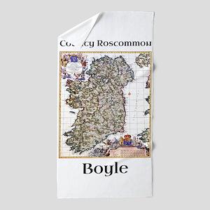 Boyle Co Roscommon Ireland Beach Towel