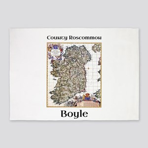 Boyle Co Roscommon Ireland 5'x7'Area Rug