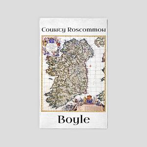 Boyle Co Roscommon Ireland Area Rug