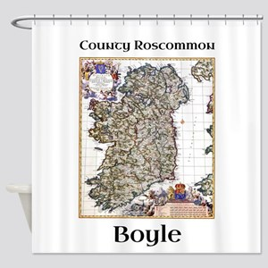 Boyle Co Roscommon Ireland Shower Curtain