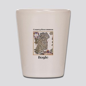 Boyle Co Roscommon Ireland Shot Glass