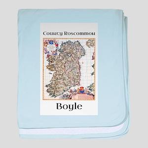 Boyle Co Roscommon Ireland baby blanket